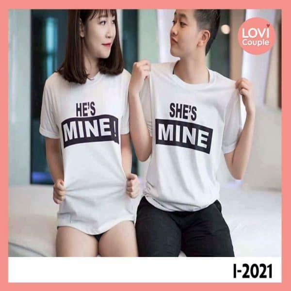 Áo Đôi He Mine She Mine i2021