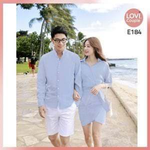 Couple Xanh Chụp Ảnh Đôi Đẹp E184