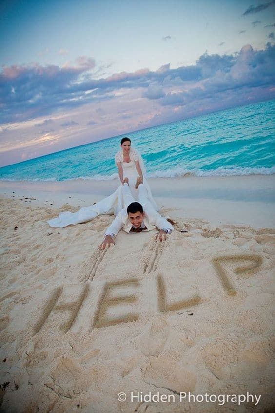 Ý tưởng chụp hình cưới thú vị cho các couple
