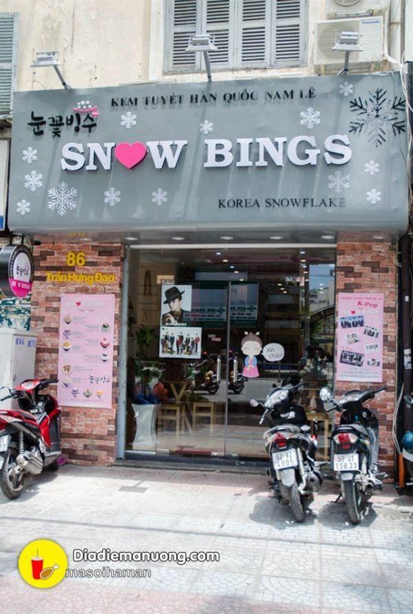 Đã thèm với Bingsu Kem Tuyết tại Snow Bings