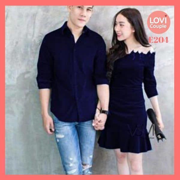 Áo Váy Cặp Đôi Nam Nữ tại Tp HCM - E107