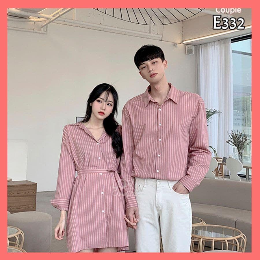 Couple Sọc Hồng E332