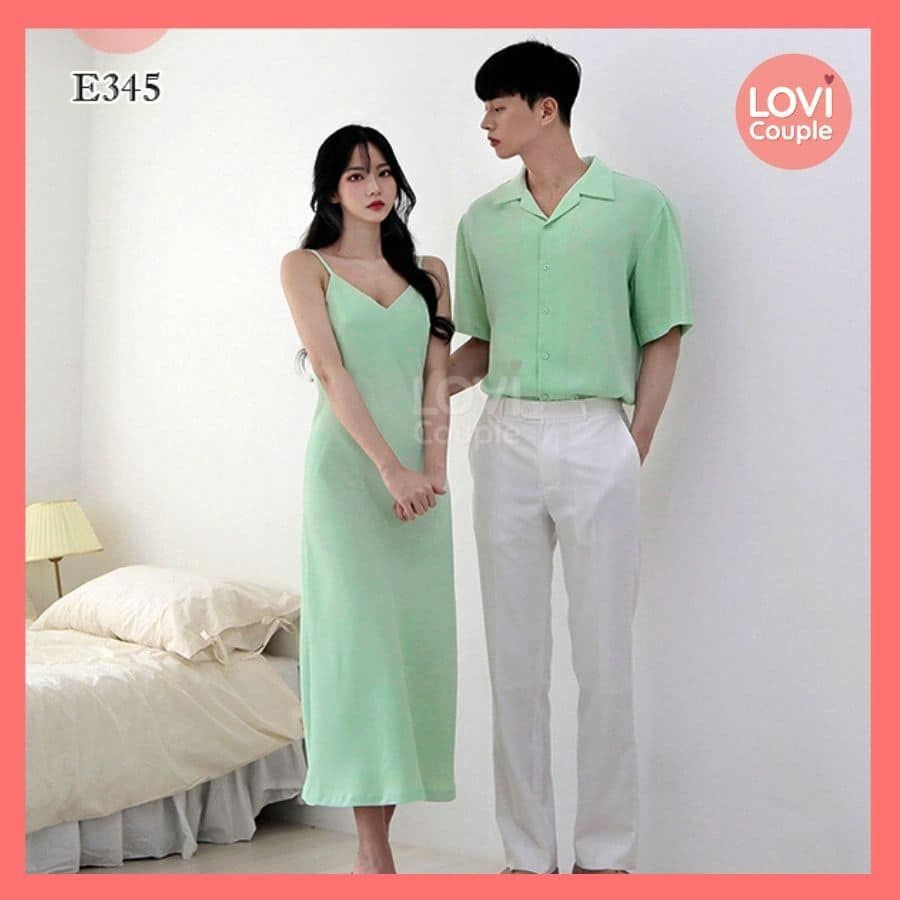 Couple Xanh Siêu Đẹp E345