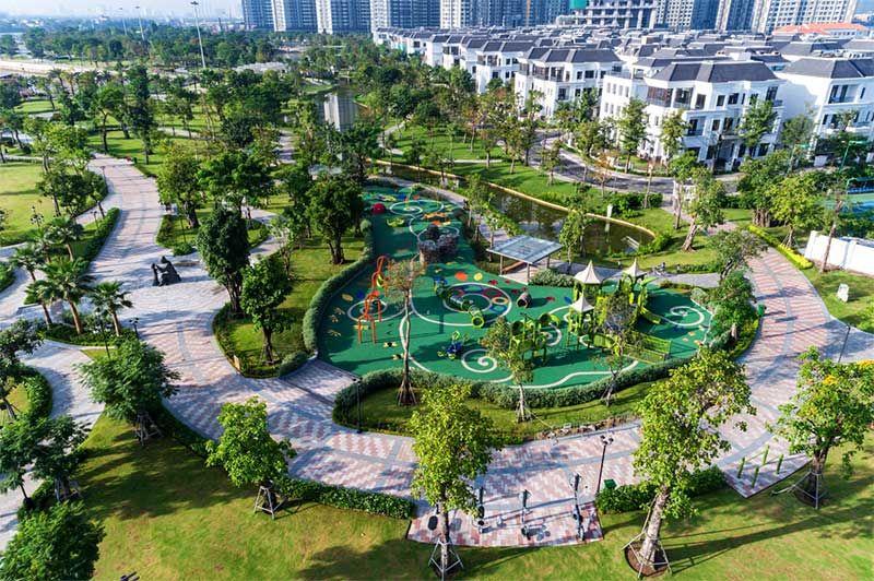 Địa điểm hẹn hò vui chơi thư giãn tại quận Bình Thạnh. cong vien vinhomes central park.