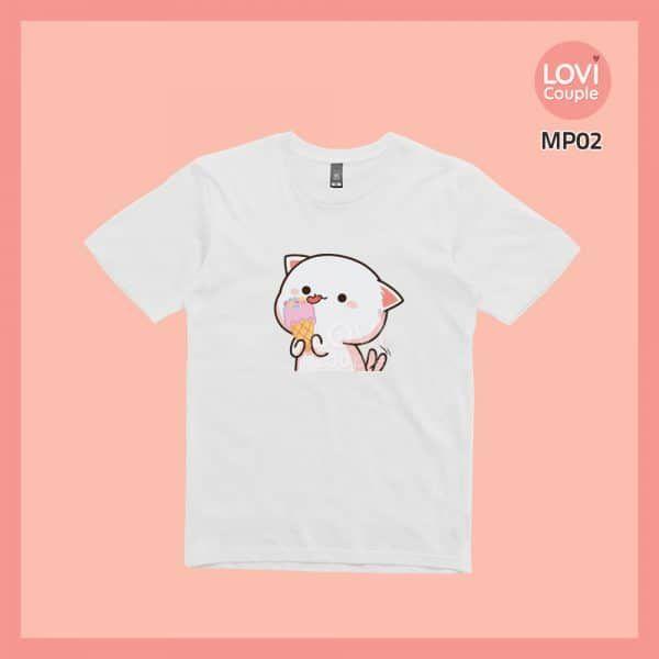 Áo Thun Mèo Mochi MP01