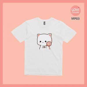 Áo Thun Mèo Mochi MP03