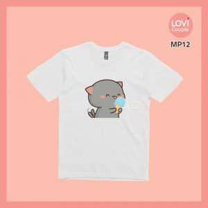 Áo Thun Mèo Mochi MP14