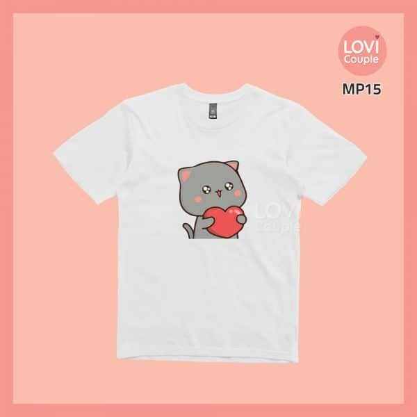 Áo Thun Mèo Mochi MP15