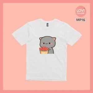 Áo Thun Mèo Mochi MP16