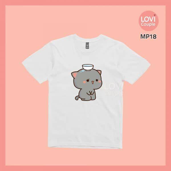 Áo Thun Mèo Mochi MP18