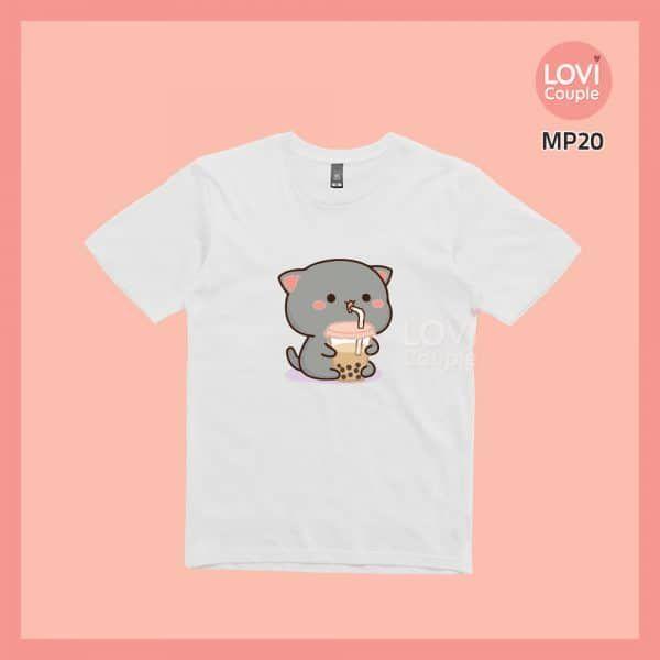 Áo Thun Mèo Mochi MP20