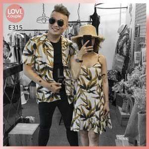Áo Váy Đôi Hai Dây Đi Biển E315