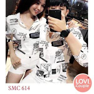Sơ mi cặp đôi SMC614