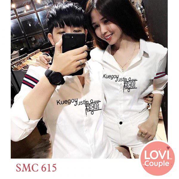 Sơ mi cặp đôi SMC615