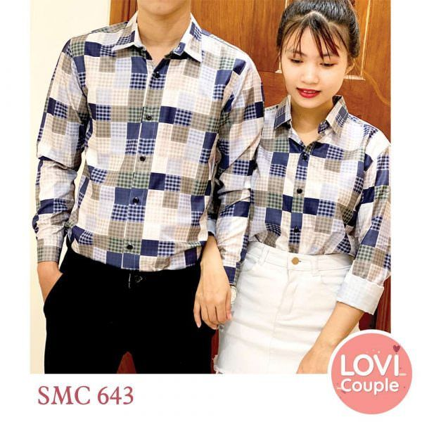 Sơ mi đôi SMC643
