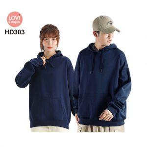 Áo Hoodie Cặp Đôi Thời Trang Trẻ HD303