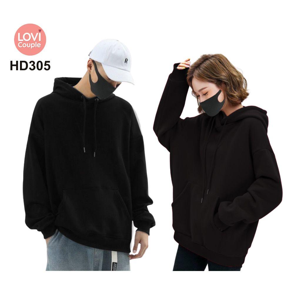 Áo Hoodie Cặp Đôi Thời Trang Trẻ HD305