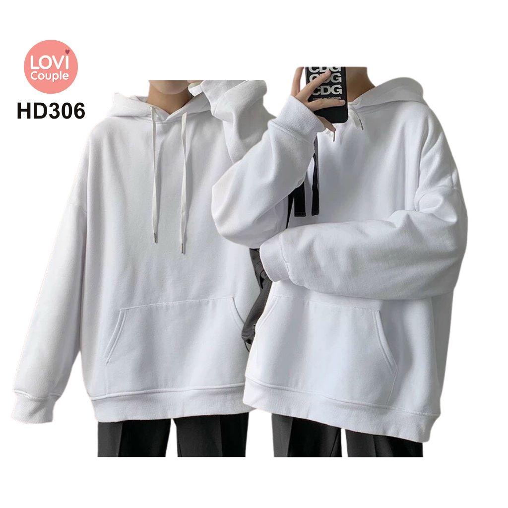 Áo Hoodie Cặp Đôi Thời Trang Trẻ HD306