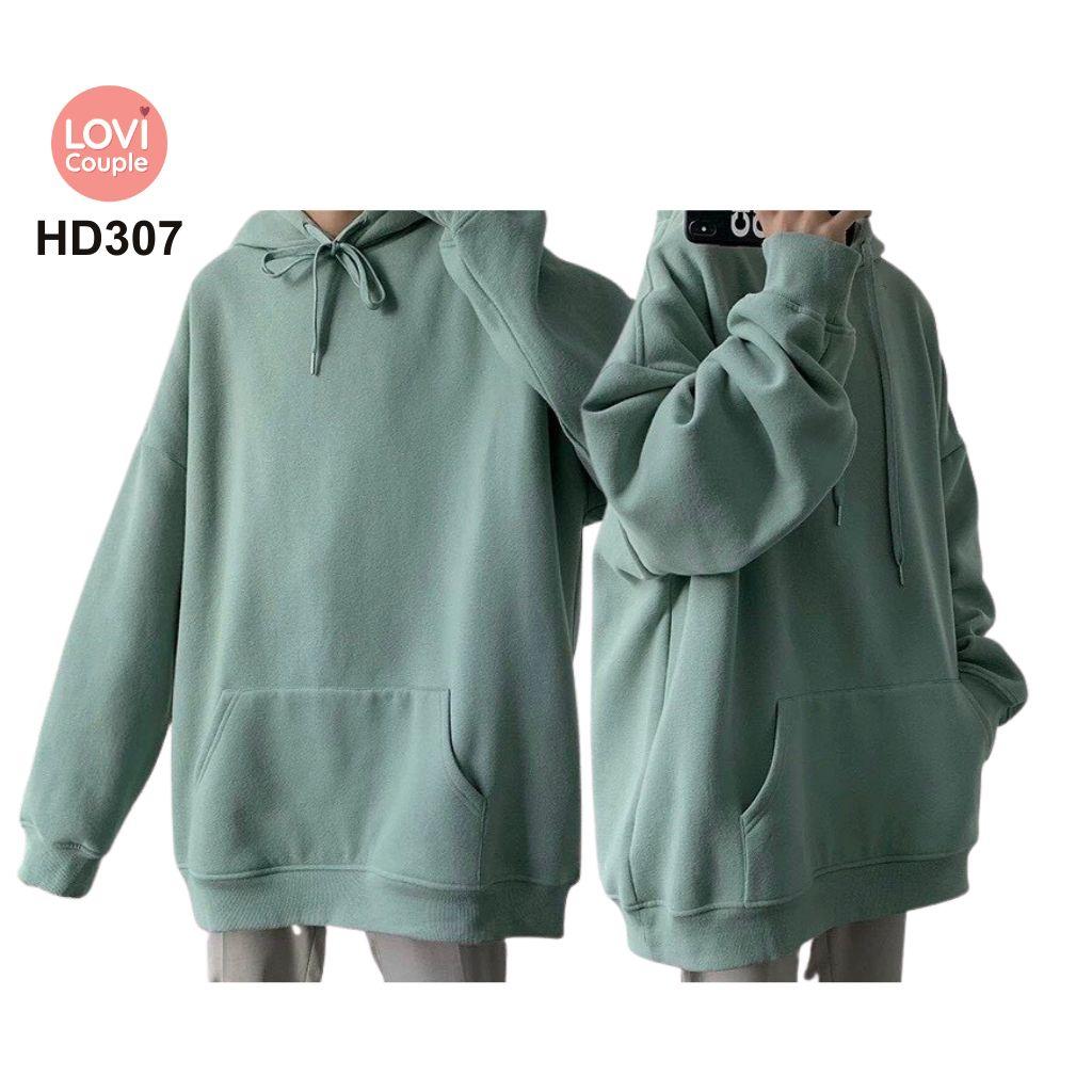Áo Hoodie Cặp Đôi Thời Trang Trẻ HD307