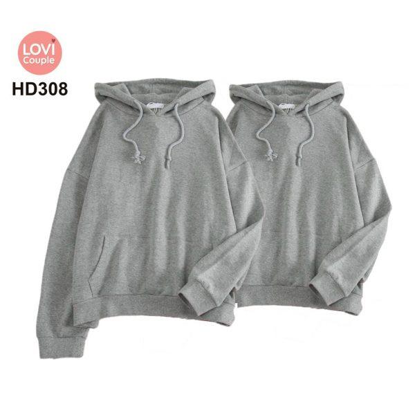 Áo Hoodie Cặp Đôi Thời Trang Trẻ HD308