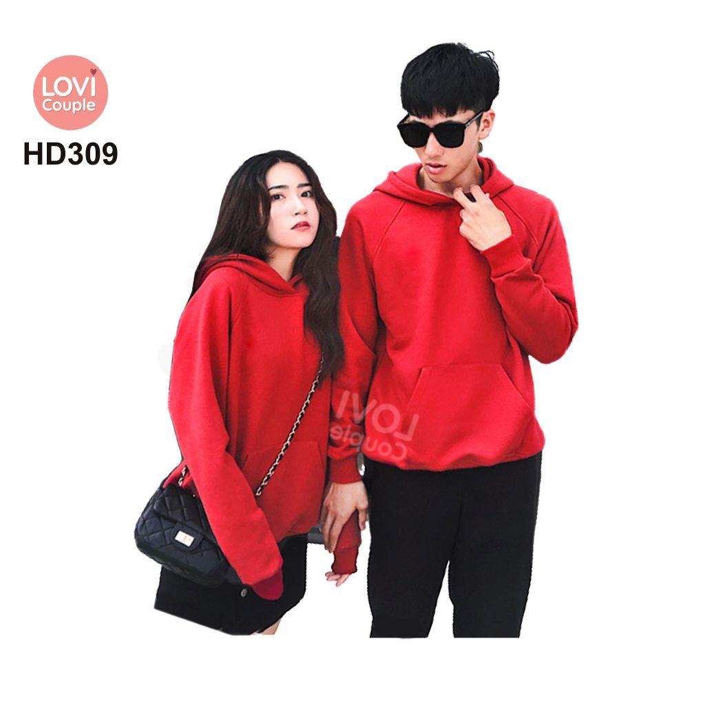Áo Hoodie Cặp Đôi Thời Trang Trẻ HD309